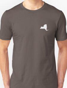 New York Over Heart T-Shirt