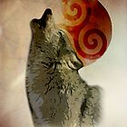 Wolf Triskelion by SourWolf06