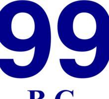 BC 99 - Britannia Beach Sticker