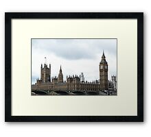 BEN Framed Print