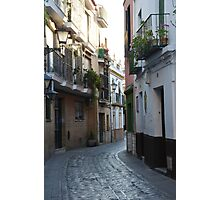[A Street] of Triana Photographic Print