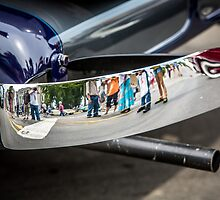 Reflection from an Auburn Bumper by eegibson