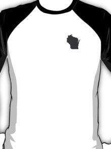 Wisconsin Over Heart T-Shirt