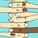 Cross Your Fingers III by bbbboom