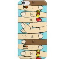 Cross Your Fingers III iPhone Case/Skin