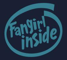 Fangirl Inside Kids Tee
