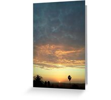 sunset 3 Greeting Card