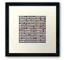 High-rise Building Facade Framed Print