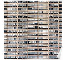 High-rise Building Facade Poster