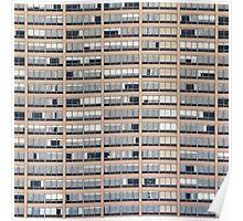 High-rise Building Facade Poster