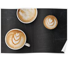 Three Cups of Coffee Poster