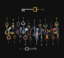 Kingdom heart 2 Keyblade by steveg2004