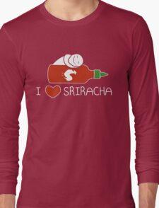 Sriracha Hot Sauce T-Shirt Tee  Long Sleeve T-Shirt