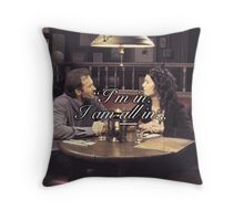I'm in. I am all in. Throw Pillow