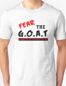 The GOAT Greatest of All Time Basketball Baseball Football  Unisex T-Shirt