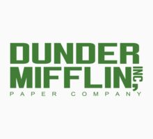 The Dunder Mifflin Funny Geek Geeks by porsandi
