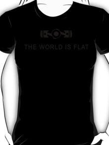The world is flat Funny Geek Geeks Nerd T-Shirt