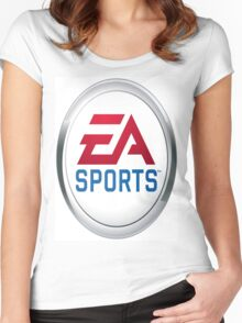 EA Sports - It's in the game Women's Fitted Scoop T-Shirt