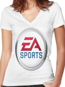 EA Sports - It's in the game Women's Fitted V-Neck T-Shirt