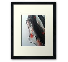 Blood and Ash Framed Print