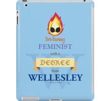 Bra-Burning Feminist - Wellesley iPad Case/Skin