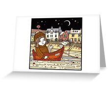 Helen's Starlit Haven Greeting Card