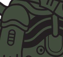 Mitesized Xeno Sticker