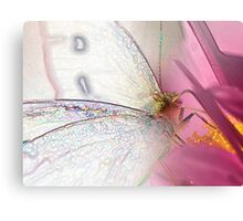 Garden Fairy (Pieris rapae) Canvas Print