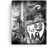 Mr Tooth Canvas Print