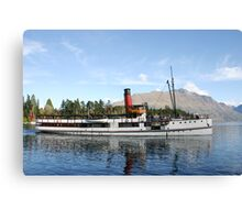 New Zealand Steamship Canvas Print