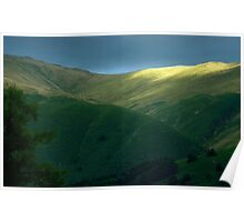 Rydal Fell - a break in the clouds Poster