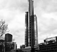 Eureka Tower, Melbourne by Helen Barnett