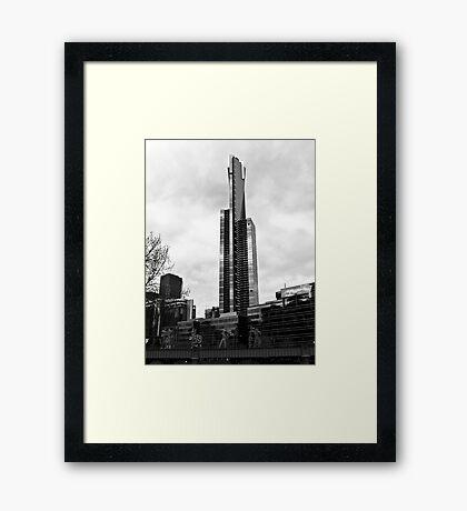 Eureka Tower, Melbourne Framed Print