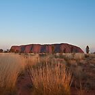 Uluru at Sunrise by Helen Barnett