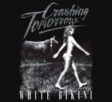 Crashing Tomorrow 'White Bikini' T-Shirt (Black) by Crashing Tomorrow