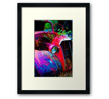 bright bumper Framed Print