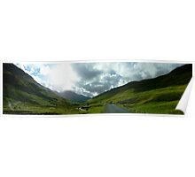 Kirkstone Pass, Ullswater, Panorama 1  Poster
