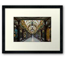 Arcade3-Leeds Framed Print