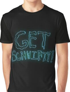 Rick & Morty-Get Schwifty Graphic T-Shirt