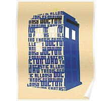 Doctor Type Poster