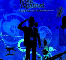 Rise Against Appeal To Reason Album Artwork Blue by ultimatejeb