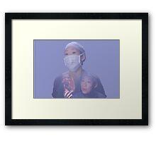 Cristina Yang cardio Framed Print