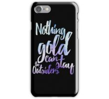 NOTHING GOLD iPhone Case/Skin