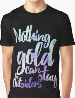NOTHING GOLD Graphic T-Shirt