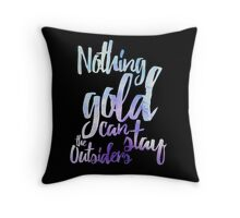 NOTHING GOLD Throw Pillow