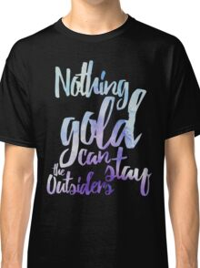 NOTHING GOLD Classic T-Shirt