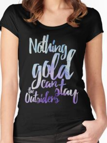 NOTHING GOLD Women's Fitted Scoop T-Shirt