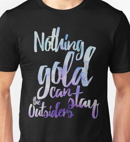 NOTHING GOLD Unisex T-Shirt