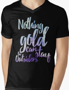 NOTHING GOLD Mens V-Neck T-Shirt