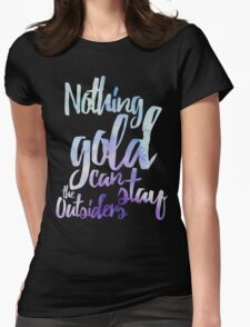 NOTHING GOLD Womens Fitted T-Shirt